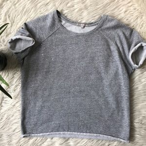 Gap short sleeve sweatshirt